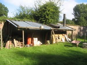 wood kiln